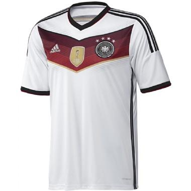Adidas WM Deutschland Heim-Trikot mit 4 Sternen für Herren