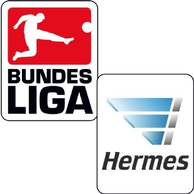 DFL Logo und Hermes-Logo im Set