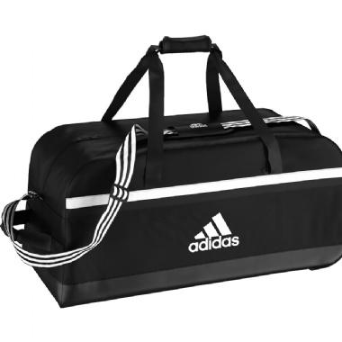 Adidas Trikottaschen Tiro Teambag Trolley mit Rollen in schwarz