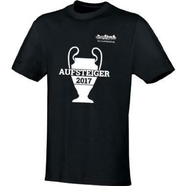 Aufsteiger-Shirts für Kinder, Damen und Herren in schwarz