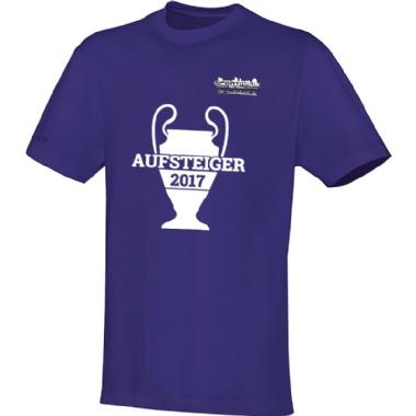 Aufsteiger-Shirts für Kinder, Damen und Herren in lila