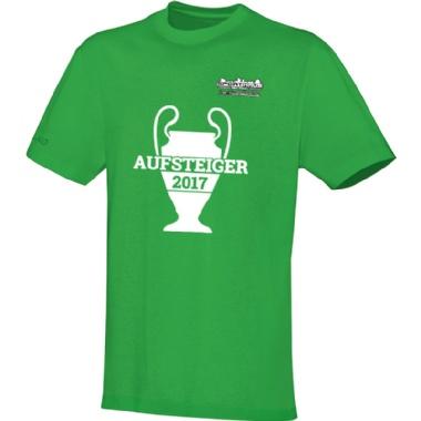 Aufsteiger-Shirts für Kinder, Damen und Herren in hellgrün