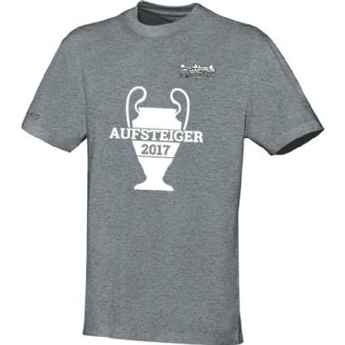 Aufsteiger-Shirts für Kinder, Damen und Herren in grau