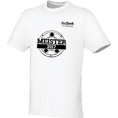 Meister-Shirts für Kinder, Damen und Herren in weiß