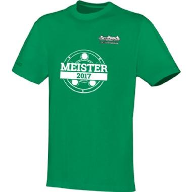 Meister-Shirts für Kinder, Damen und Herren in grün