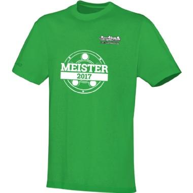 Meister-Shirts für Kinder, Damen und Herren in hellgrün