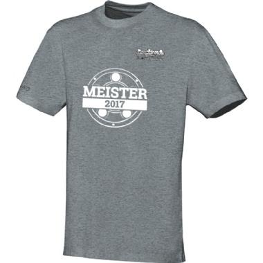 Meister-Shirts für Kinder, Damen und Herren in grau