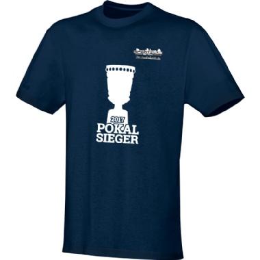 Pokalsieger-Shirts für Kinder, Damen und Herren in dunkelblau