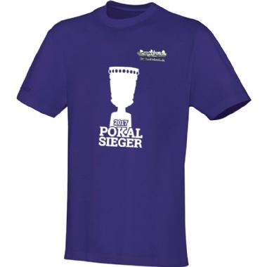 Pokalsieger-Shirts für Kinder, Damen und Herren in lila