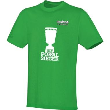 Pokalsieger-Shirts für Kinder, Damen und Herren in hellgrün