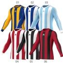 Adidas 10´er Trikotsatz Striped Estro 13 langarm für Kinder (Trikot - Hose - Stutzen)