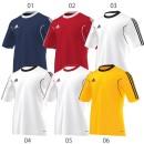 Adidas 10´er Trikotsatz Squadra 13 kurzarm für Kinder (Trikot - Hose - Stutzen)