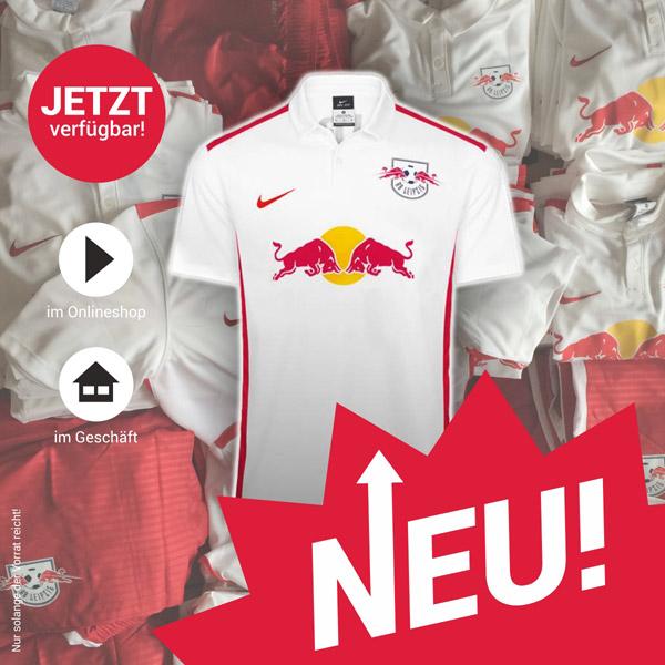 RB Leipzig Heimtrikots von Nike für die neue Saison 2015/2016 - jetzt erhältlich!