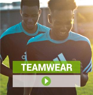 Teamwear von Nike, Adidas, Puma, Jako und Stanno