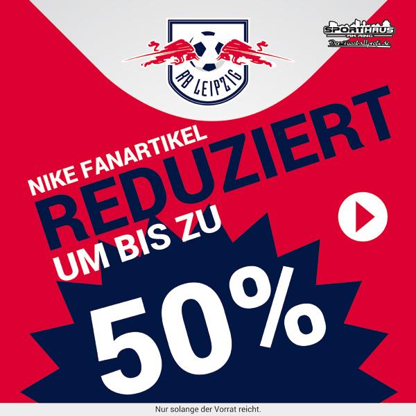 RB Leipzig Fanartikel mit 50% Rabatt! - Jetzt im Shop erhältlich!