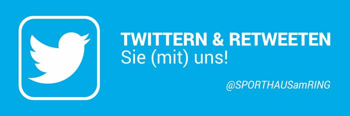 Twittern und Retweeten Sie (mit) uns!