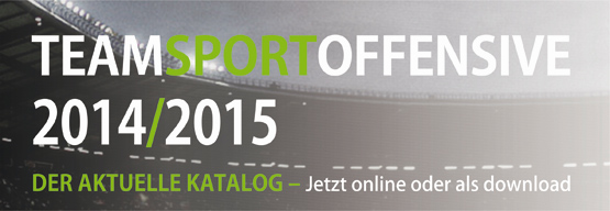 Teamsportkatalog Anzeige 2014/2015