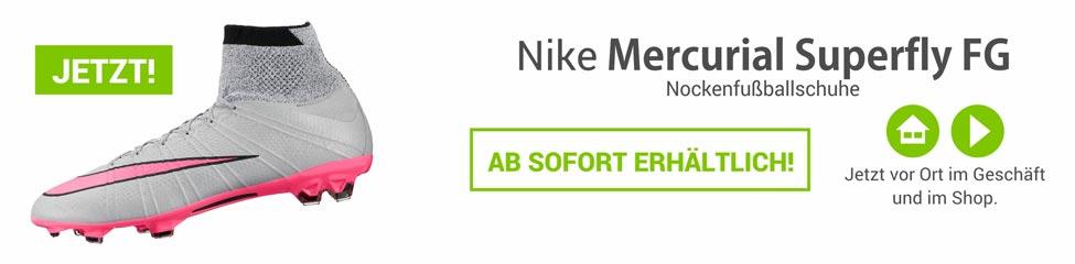 Die Nike Mercurial Superfly Nockenfussballschuhe 641858-060