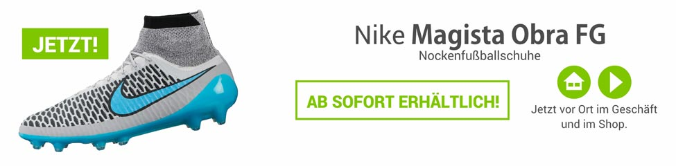 Die Nike Magista Obra Nockenfussballschuhe 641322-040