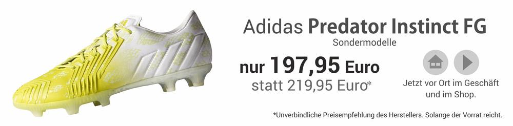 Die Adidas F50 adizero FG als Sondermodelle - ab sofort erhältlich!