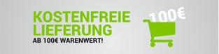 Versandkostenfrei Lieferung bereits ab 100 Euro Warenwert!