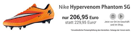 Nike Hypervenom Phantom SG Pro Stollenschuhe - ab sofort erh�ltlich!