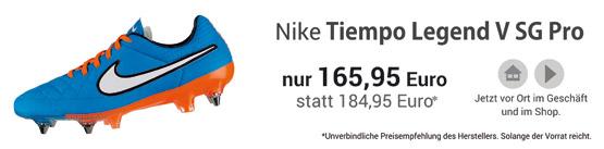 Nike Tiempo Legend SG Professional Stollenschuhe - jetzt im Handel!