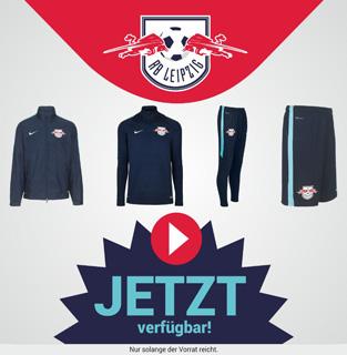 RB Leipzig Trainingsbekleidung der Saison 2015/2016 von Nike - Jetzt im Shop verfügbar!