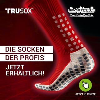 TruSox - Die Socken der Profis! - Jetzt erhältlich!