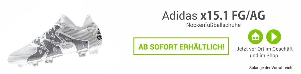 Die neuen Adidas X15 Fußballschuhe S83149 - jetzt im Shop!
