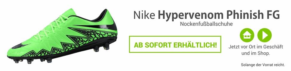 Die Nike Hypervenom Phinish Nockenfussballschuhe 749901-307
