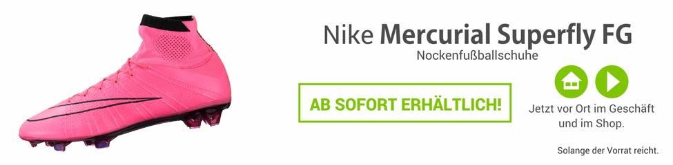 Die Nike Mercurial Superfly Nockenfussballschuhe 641858-600