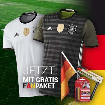 EURO 2016 - Die Mannschaft-Trikots mit Gratis Fanpaket - jetzt im Shop!