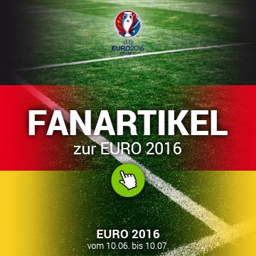 EURO 2016 - Deutschland-Fanartikel jetzt im Onlineshop!