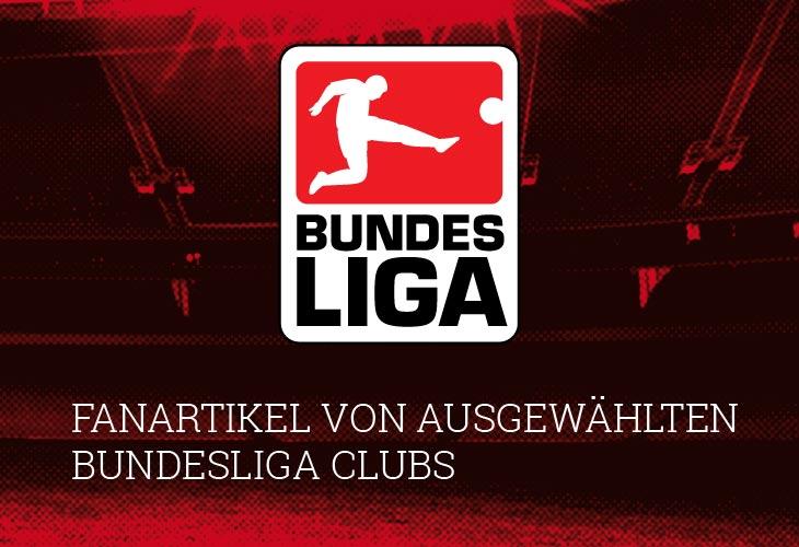 Bundesliga Fanartikel im Onlineshop