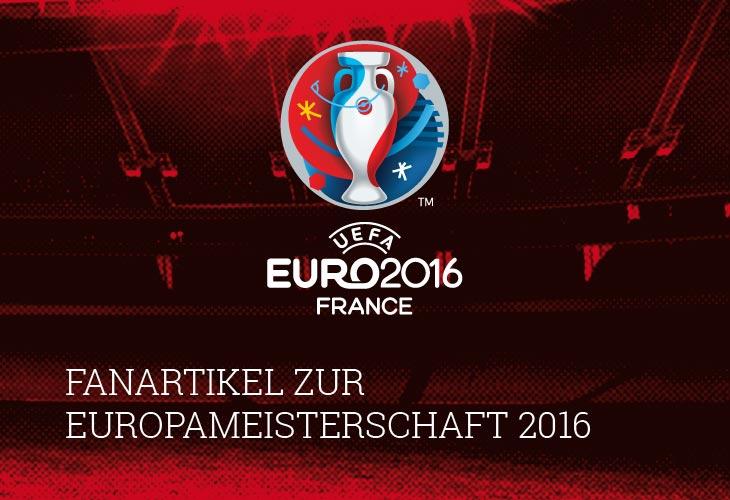 Fanartikel zur Euro 2016 im Onlineshop
