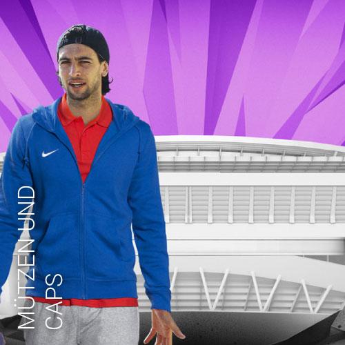 Übersicht Mützen von Nike Adidas Jako und Puma - Teamwear