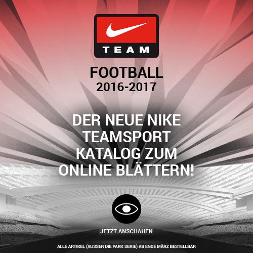 Nike Fussball Teamsport Katalog 2016-2017