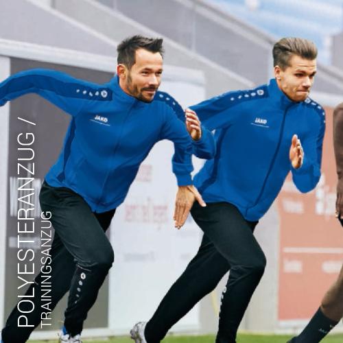 Übersicht Puma und Jako Polyesteranzug - Teamwear