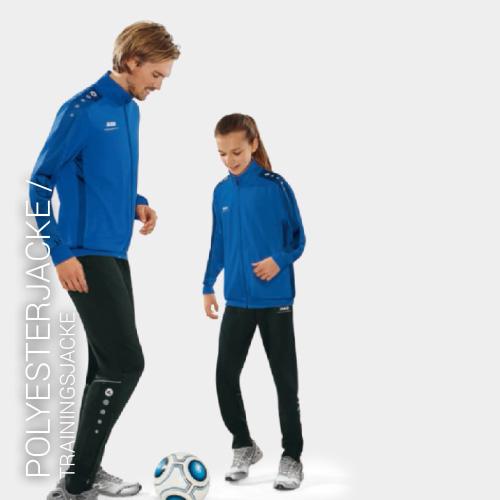 Übersicht Puma und Jako Trainingsjacken - Teamwear