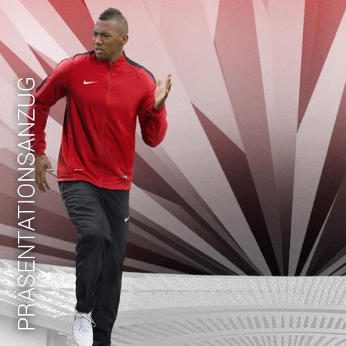 Übersicht Nike und Adidas Präsentationsanzug - Teamwear