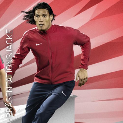 Übersicht Nike Präsentationsjacken - Teamwear