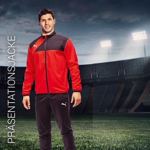 Übersicht Puma und Jako Präsentationsjacken - Teamwear