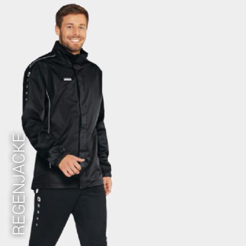 Übersicht Puma und Jako Regenjacken - Teamwear
