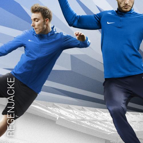 Übersicht Nike und Adidas Regenjacken - Teamwear
