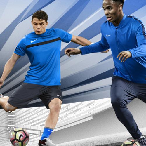 Übersicht Nike und Adidas T-Shirts - Teamwear