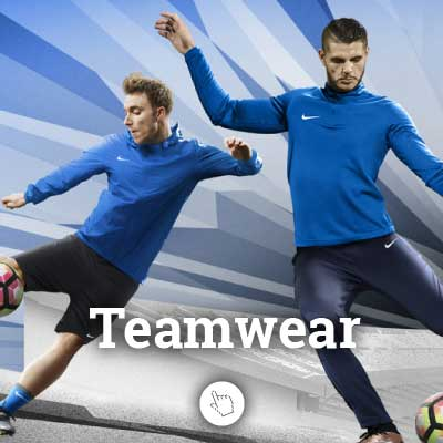 Teamwear von Nike, Adidas, Puma und Jako