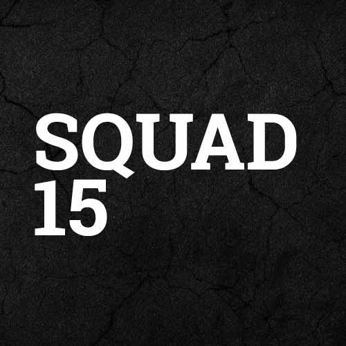 komplette Nike Squad 15 Teamlinie
