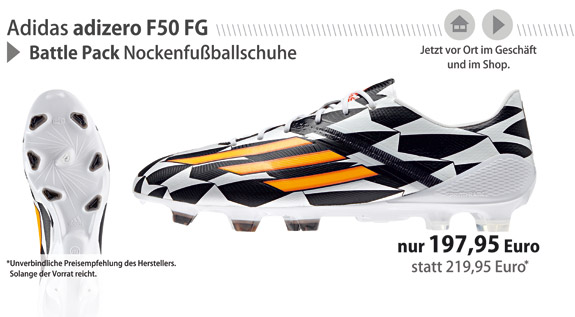 Battle Pack WC adizero F50