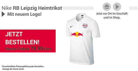 Die neuen Rasenballsport Leipzig Heimtrikots sind ab sofort erh�ltlich!
